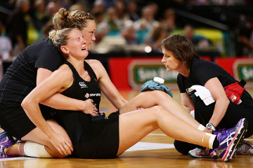 Experiencing pain from netball?
